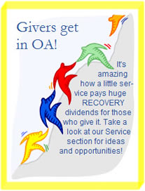 Give Service, Get Recovery in OA