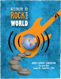 Plan on attending the OA World Service Convention in Cleveland August 2013