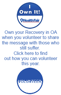 Volunteer for this year's 9HealthFair - spread the message