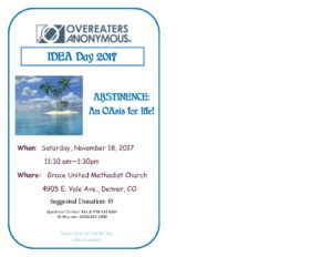 Celebrate IDEA Day @ Grace United Methodist Church | Denver | Colorado | United States